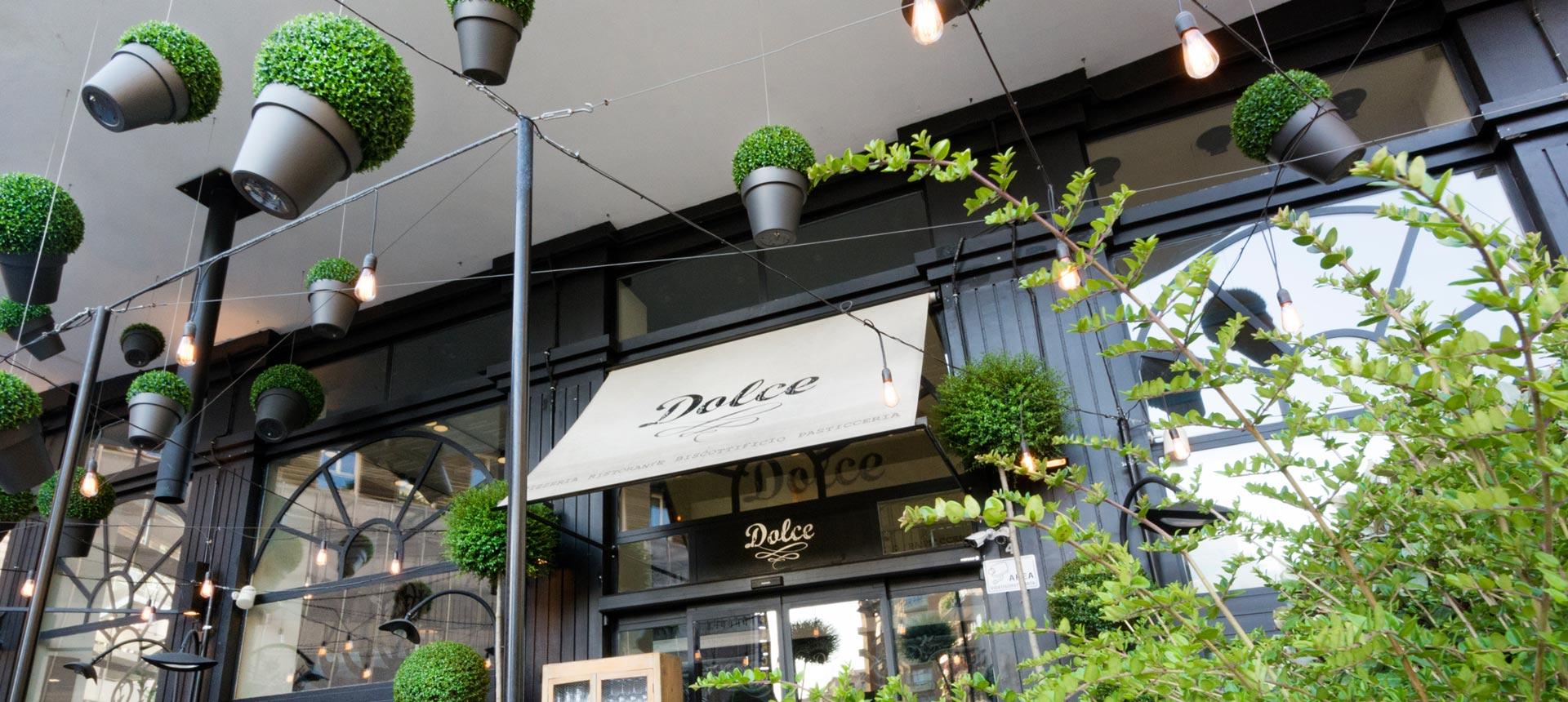 allestimento estate ristorante pasticceria dolce roma
