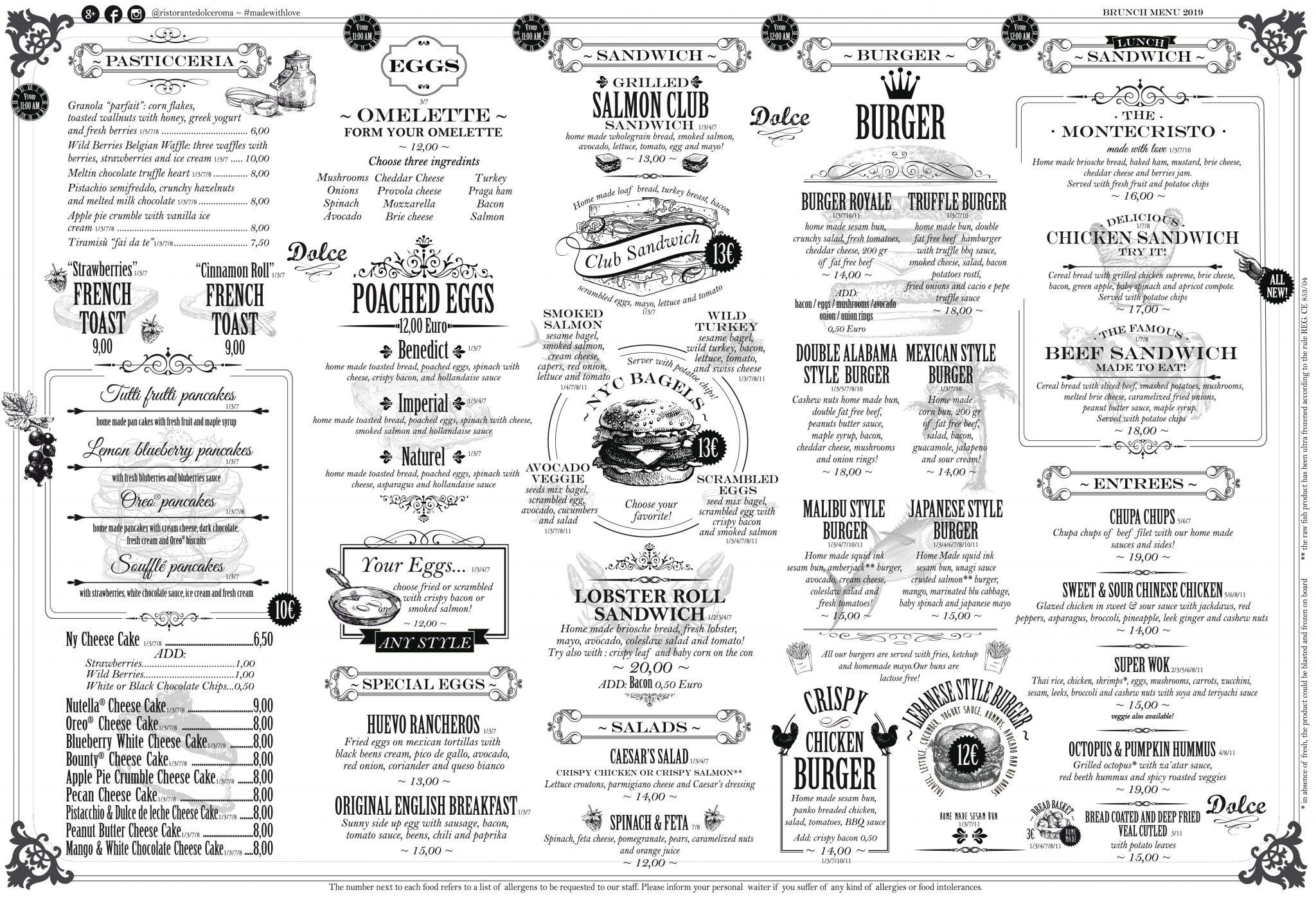Home Dolce Ristorante Pasticceria Pizzeria A Roma